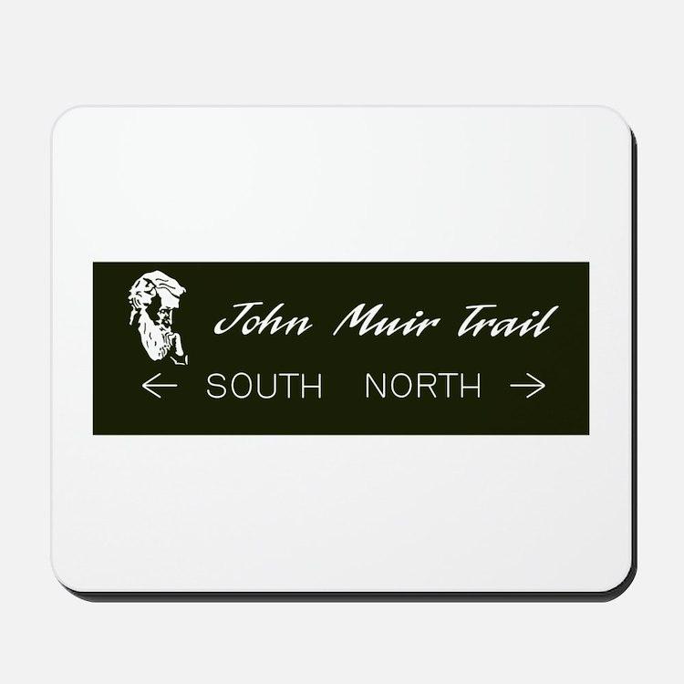 John Muir Trail, California Mousepad
