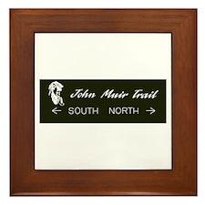 John Muir Trail, California Framed Tile