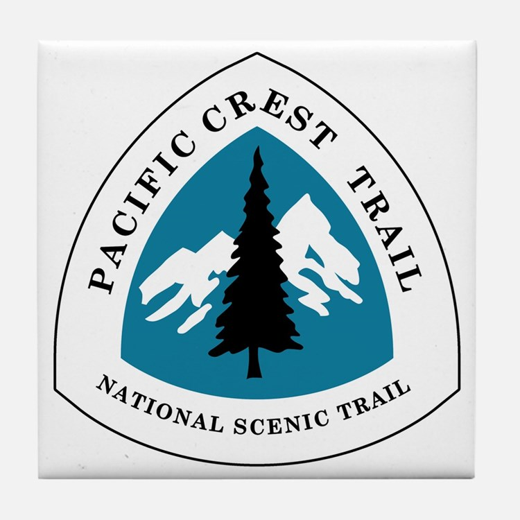 Pacific Crest Trail, California Tile Coaster