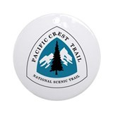 Pacific crest trail Round Ornaments