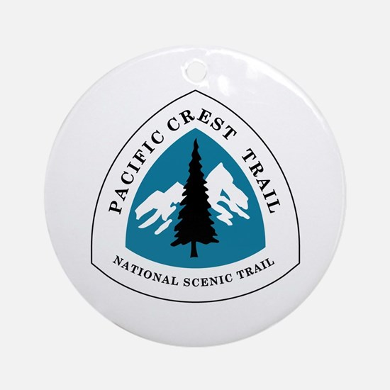 Pacific Crest Trail, California Round Ornament