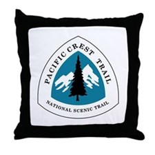 Pacific Crest Trail, California Throw Pillow