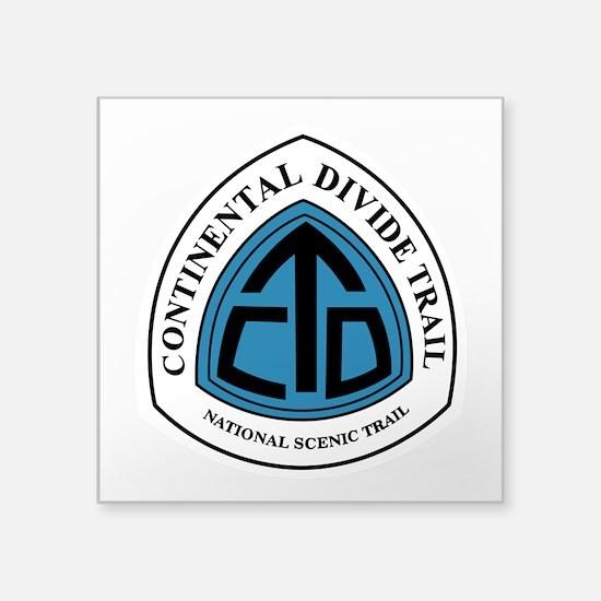 """Continental Divide Trail, C Square Sticker 3"""" x 3"""""""