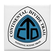 Continental Divide Trail, Colorado Tile Coaster