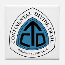 Continental Divide Trail, Colorado Tile Coaster