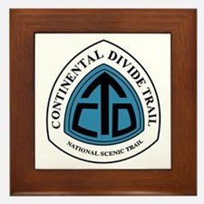 Continental Divide Trail, Colorado Framed Tile