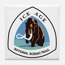 Ice Age Trail, Wisconsin Tile Coaster