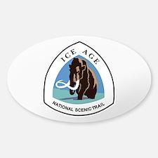 Ice Age Trail, Wisconsin Sticker (Oval)