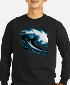 Surfer Slang: Mavericks Long Sleeve T-Shirt