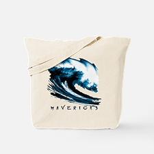Surfer Slang: Mavericks Tote Bag