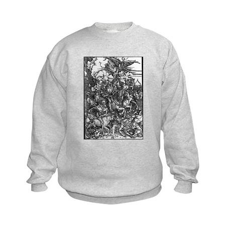 Four Horsemen of the Apocalypse Kids Sweatshirt