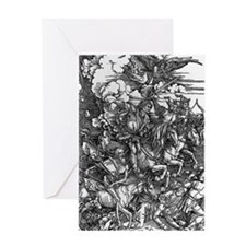 Four Horsemen of the Apocalypse Greeting Card