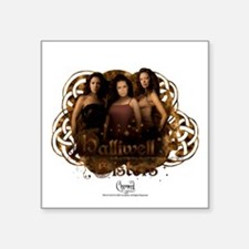 "Charmed: Halliwell Sisters Square Sticker 3"" x 3"""