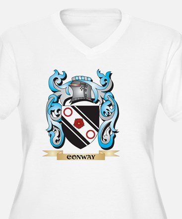 Conway Coat of Arms - Family Cre Plus Size T-Shirt