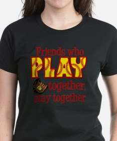 Cute Fastpitch softball catcher Tee