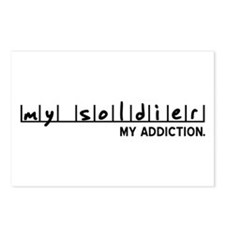 My Soldier, My Addiction Postcards (Package of 8)