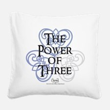 Charmed: The Power of Three H Square Canvas Pillow