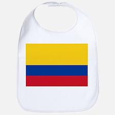 Falg of Colombia Bib