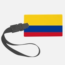 Falg of Colombia Luggage Tag