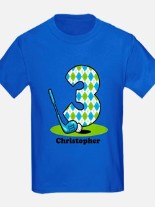 Argyle Golf 3rd Birthday T