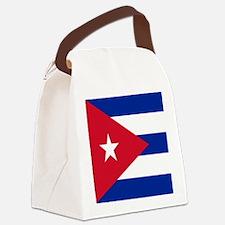 cuban flag Canvas Lunch Bag