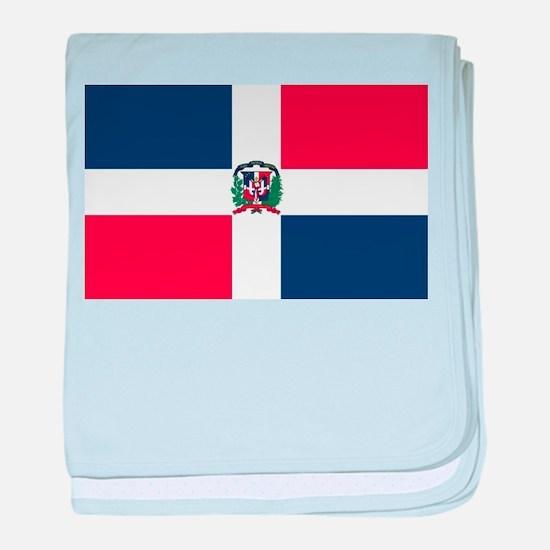 Dominican Republic baby blanket