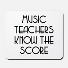 music teachers score Mousepad