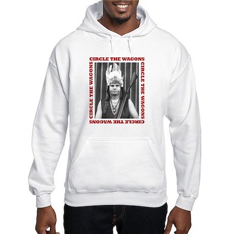 Circle The Wagons - Hooded Sweatshirt