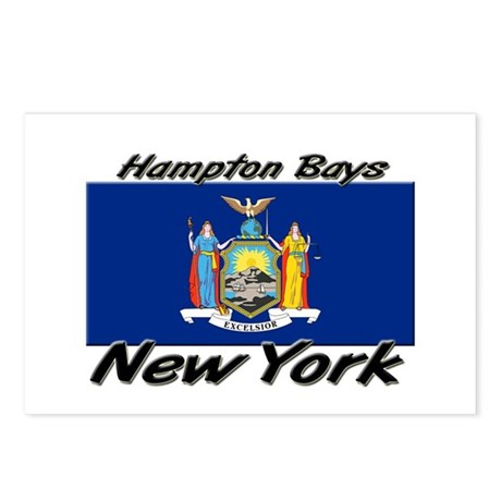 Hampton Bays New York Postcards (Package of 8)