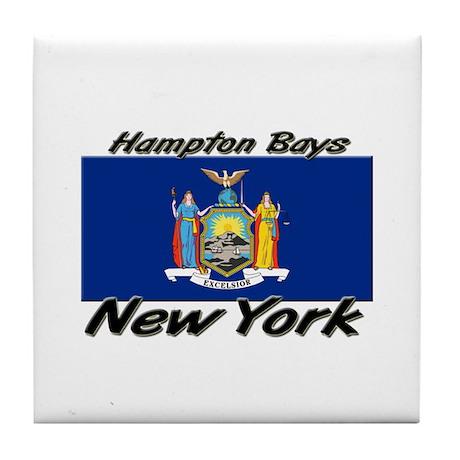 Hampton Bays New York Tile Coaster