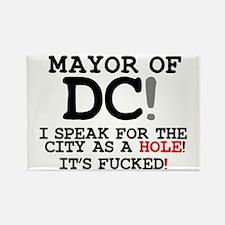 CITY AS A HOLE - ITS FUCKED - WASHINGTON D Magnets