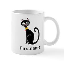 Black Cat (p) Mugs