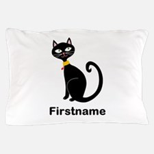Black Cat (p) Pillow Case