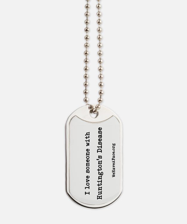 I Love Someone With Hd! Dog Tags