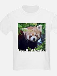 Love Red Pandas T-Shirt