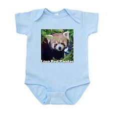 Love Red Pandas Infant Bodysuit