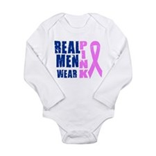 Cool Pink Long Sleeve Infant Bodysuit