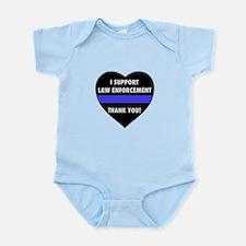 I Support Law Enforcement Body Suit