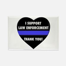 I Support Law Enforcement Magnets