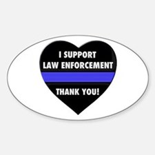 I Support Law Enforcement Decal