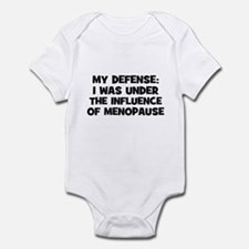 My Defense: I was under the i Infant Bodysuit