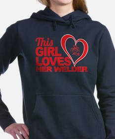 Unique Fun her Women's Hooded Sweatshirt