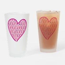 Cancer-Heart.png Drinking Glass