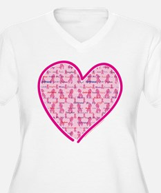 Cancer-Heart.png Plus Size T-Shirt