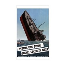 Medicare Sunk, Social Security Next Decal
