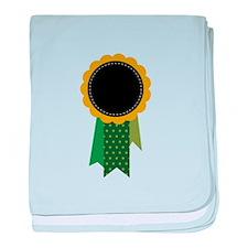 Award Ribbon baby blanket