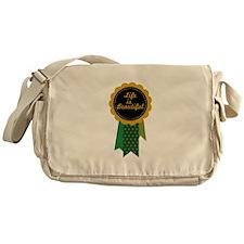 Life Is Beautiful Messenger Bag