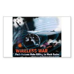Push Button Warfare Rectangle Decal
