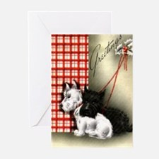 Cool Scottie dog Greeting Cards (Pk of 20)