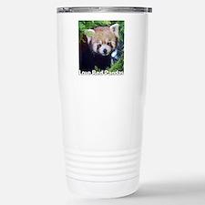 Love Red Pandas Stainless Steel Travel Mug